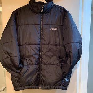 Men's FOX Black Puffer Jacket